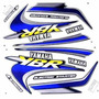 Jogo Kit Adesivo Yamaha Ybr125 2000 Verde