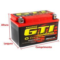Bateria Gti 4bs - 5ah - Titan Es/titan 150 Ks/ Bros Es ...