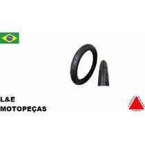 Pneu Moto Azonic Levorin 90/90-18 + 2.75-18 Sem Camara (par)