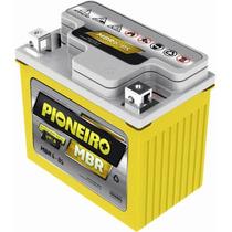 Bateria Moto Pioneiro Mbr6-bs Honda Biz / Fan / Titan / Bros