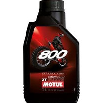 Oleo Motul 800 2t Factory Line Off Road 100% Sintético