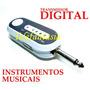 Transmissor De Instrumentos Sem Fio Guitarra Violão Retorno