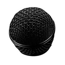 Globo Grelha Redondo Para Microfone Preto Tipo Sm58