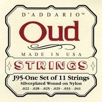 Promoção! D Addario J95 Encordoamento Oud S. Wound Ny 11cord
