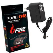Fonte Pedal Fire Power One 9v Dc 1a Para Pedal Ou Pedaleira