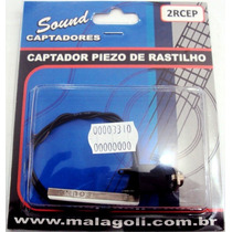 Captador Piezo De Rastilho Para Cavaco - Malagoli 2rcep