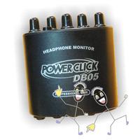 Amplificador De Fone De Ouvido Power Click Db 05 Com Fonte