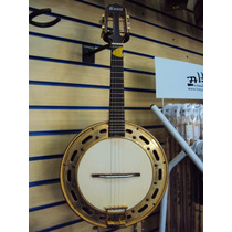 Banjo Rozini Profissional Rj12eln Elétrico Natural Escuro