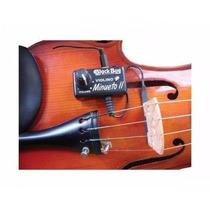 Kit Captador P/ Violino E Viola C/ Volume Bbm Lack Bug