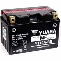 Yuasa Bateria Yt12a-bs Hayabusa, Srad 1000 750 Sv650 Bandit