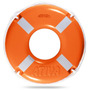 Boia Salva-vidas Classe Ii - 50 Cm - Ativa- Homologado