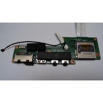 Placa Usb / Audio / Rj45 Netbook Philco Phn-11a P123ws