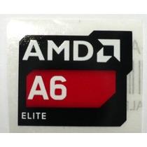 Adesivo Original Amd A6 Elite