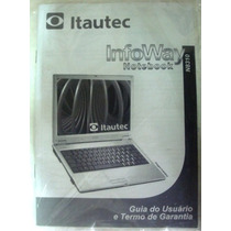 Manual Original Do Notebook Itautec N8310