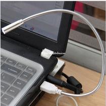 Mini Lâmpada Usb Led Flexível Para Pc Notebook