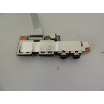 1 - Placa Audio / Usb Para Notebook Positivo Unique N4100