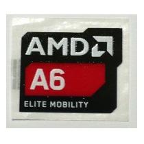 Adesivo Original Amd A6 Elite Mobility