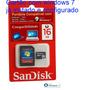Cartão Memoria Sd Com Windows7, Para Notebook, Netebook E Pc