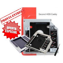 Case Gaveta Para Segundo Hd Ou Ssd Dvd 9,5mm Dell Asus Hp..