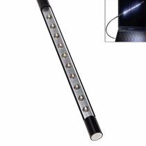Bastão Flexível Luminária Com 10 Led Pc Notebook Usb
