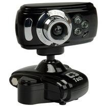 Webcam 30mp Com Microfone Preto Wb2105-p C3tech