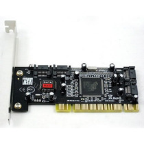Placa Pci C/ 4 Port Sata To Pci Sil3114 Raid