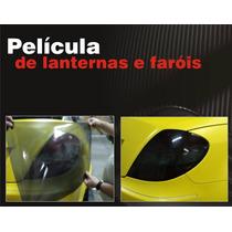 Pelicula Adesivo P/ Lanterna E Farol - Máscara Fumê Cristal
