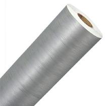 Adesivo Aço Escovado Prata Envelopamento Automotivo
