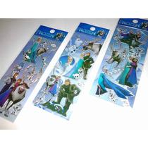 Frozen - Kit Cartela Adesivo Stickers C/ 12 Cartelas