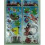 Angry Birds Adesivos Stickers Kit Com 12 Cartelas Lindos