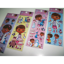 Doutora - Kit Cartela Adesivo Stickers C/12 Cartela