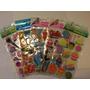 Kit C/5 Adesivos Stickers Puff 3d Meninas - Frete Grátis