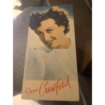 Estampa Card Sabonete Lever Atriz Joan Crawford Cinema Antig