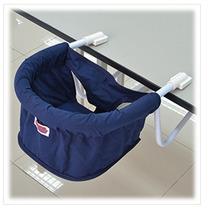 Cadeira De Refeição Portátil Para Mesa - Azul Marinho
