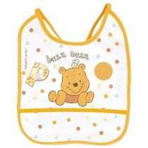 Babador Decorado Pvc Ursinho Pooh Disney Baby - Baby Go