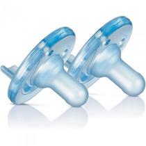 Kit 2 Chupetas Philips Avent Soothie 3m+ Maiores 3meses Azul