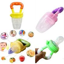 Alimentador De Frutas Para Bebe Com Bico De Silicone