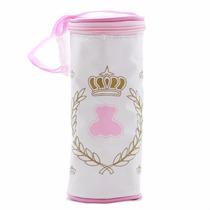 Porta Mamadeira Térmico Simples Lipi Baby - Rosa Menina