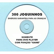 Cd 300 Jogos P/ Dvd Britânia,philco,lenoxx,cce,nks, Etc...