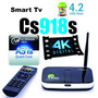 Cs918s Media Player Mkv Fullhd Tv Box Quadcore Android 4.4