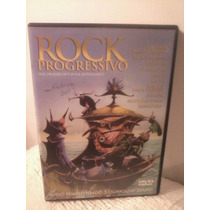 Dvd Rock Progressivo (the Progressive Rock Anthology)