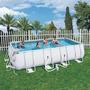 Piscina Luxo Estrutural Retangular 14.812l Completa Bestway