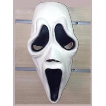 Máscara Do Pânico Em Latex Halloween Carnaval - Frete Grátis