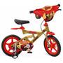 Bicicleta Infantil Aro 12 Avengers Iron Man Bandeirante
