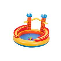 Piscina Inflável Banheira Playground Castelo Infantil Mor