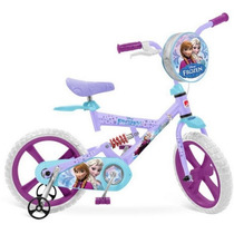 Bicicleta Infantil X-bike Aro 14 Frozen Disney Bandeirante