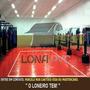 Promoção Lona Vermelha Tatame 15x1,57m Ringue Mma Academia