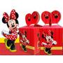Caixinha De Doce - Minnie Vermelha - Aniversário