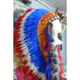 Cocar Indigena Repro Chefe Nativo Americano Xamanismo