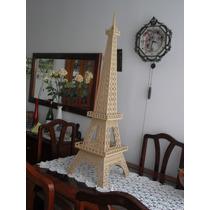 Frete Gratis Torre Eiffel Mdf 3mm 1,15m - 3d Para Montar